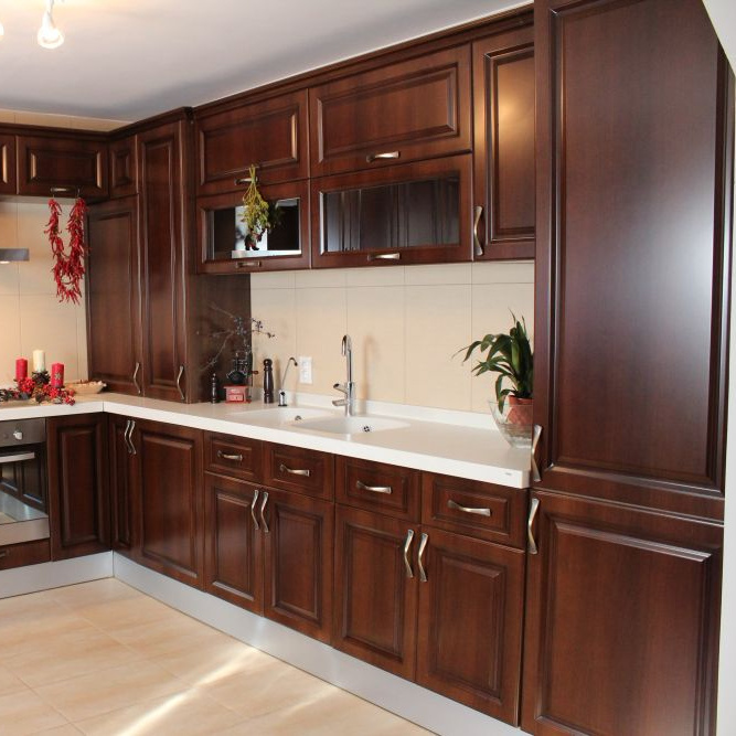modern American Stylecan custom made kitchen cabinet designs solid wood