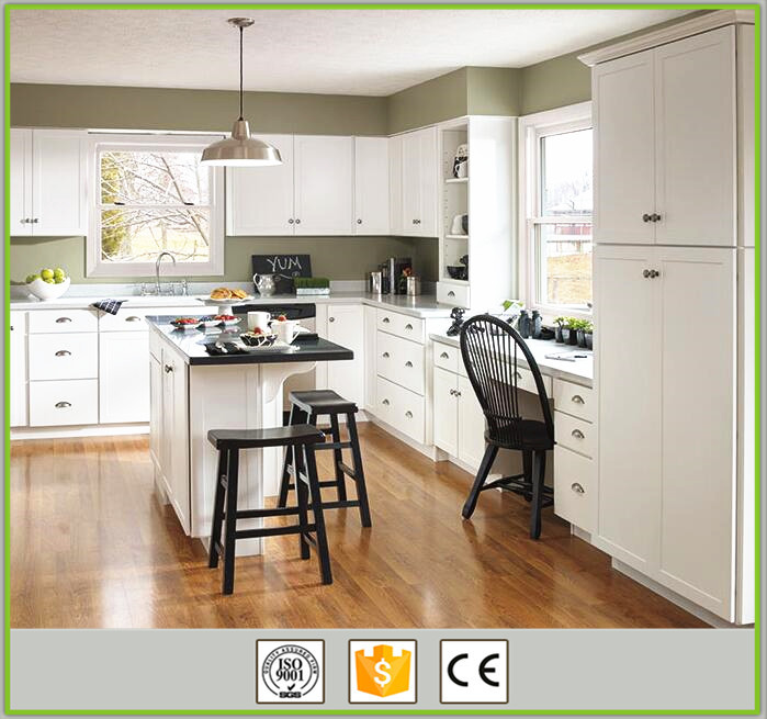 cheap american style white water resistant kitchen cabinet