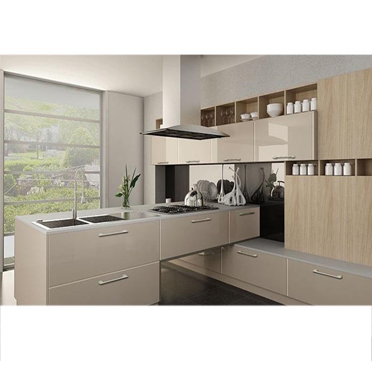Apartment Modern Design Pvc Door Kitchen Cabinet Equipment Cabinet Rta