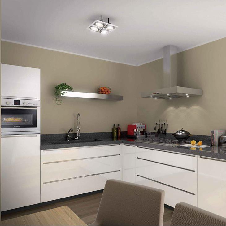 White Modular Solid Wood Modern L shaped Kitchen Cabinets Designs Modern