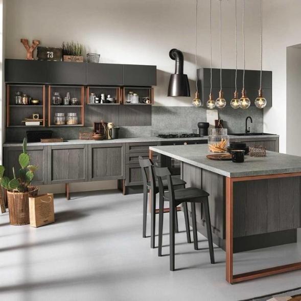 European Hot Selling Melamine Partical Board Kitchen Handles Cabinet