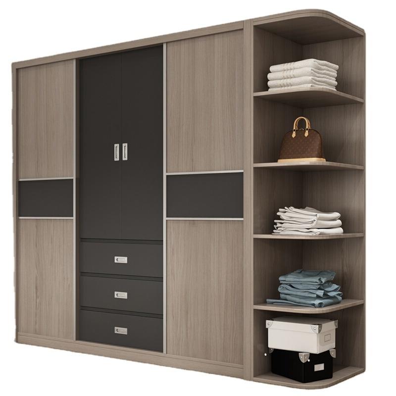 Double Color Wardrobes Bedroom Furniture,Bedroom Clothes Wardrobe