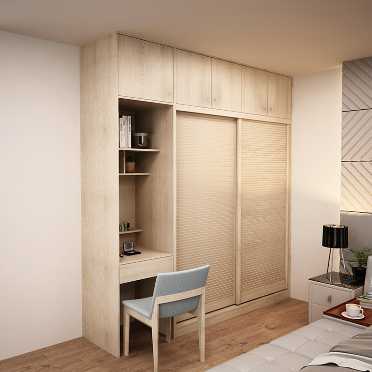 Customizable Size Modern Closet Bedroom Furniture Wardrobe Home Furniture Wooden Foldable Babies and Kids Panel Living Room