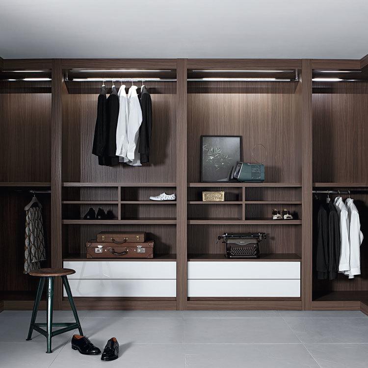 Wood Kids Closet Wardrobe Designs Bedrooms Wall Solid 2 Door Solid Bedroom Furniture Home Furniture Wooden Modern Panel
