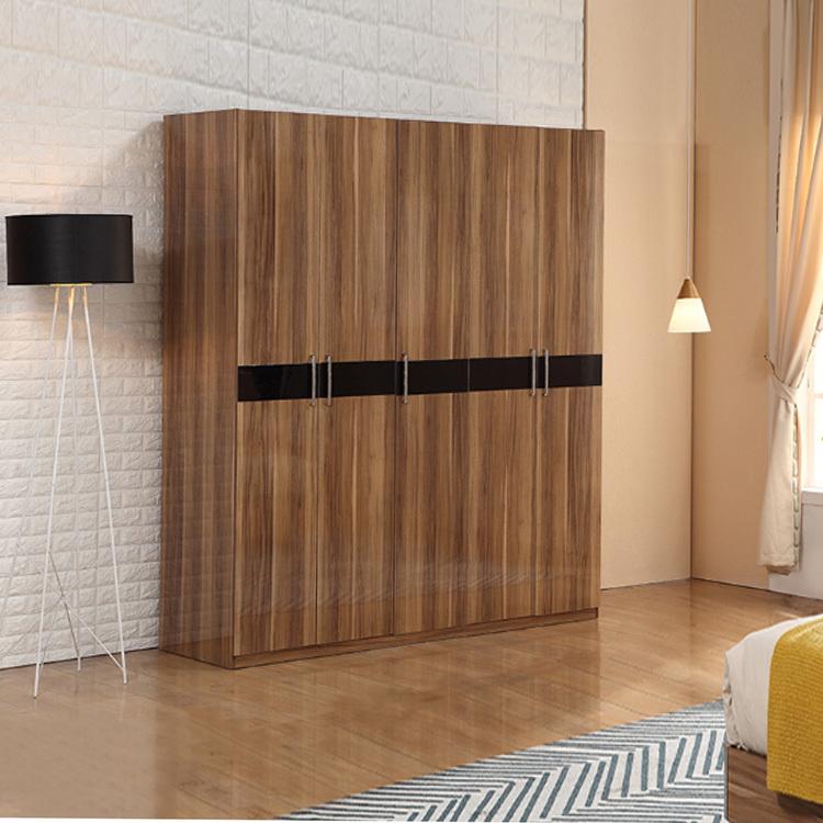 High Gloss Open Modern Japanese Style Wardrobe Storage