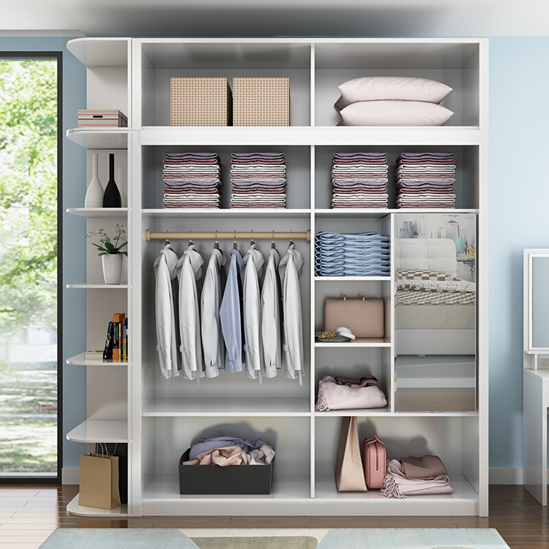modern simple designs closet wardrobe furniture bedroom
