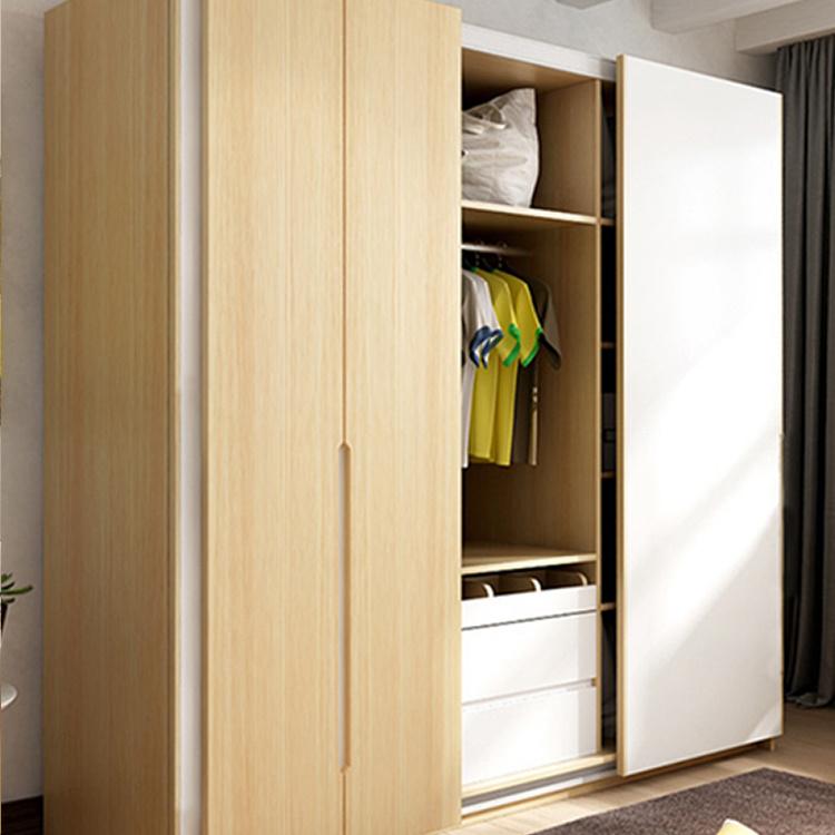 Design Mdf 2 Doors Home Center Bedroom Wardrobe Prices