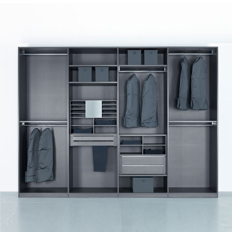 China Factory Price Clothes Cabinet Sliding Girl Wardrobe Doors Locks Bedroom