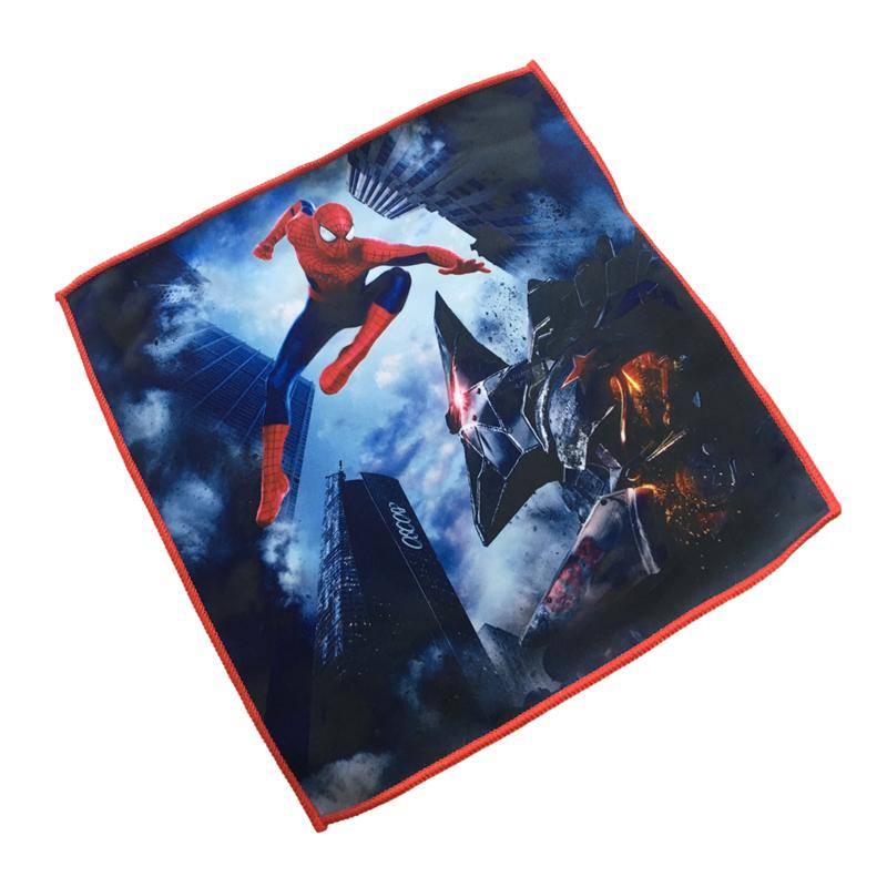 Special microfiber Spiderman coral velvet baby towel