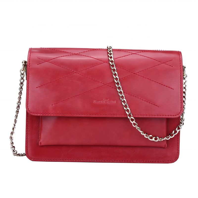 Hot Selling Simple Shoulder Lady Hand Genuine Leather Chain Crossbody Bag Designer Bags