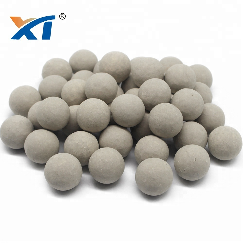 Alkaline Desiccant Alumina Ceramic Support Media Balls