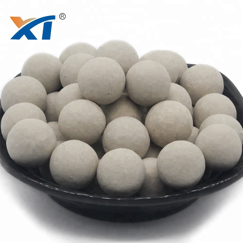 Catalyst Support Media Alumina Ceramic Ball Porcelain