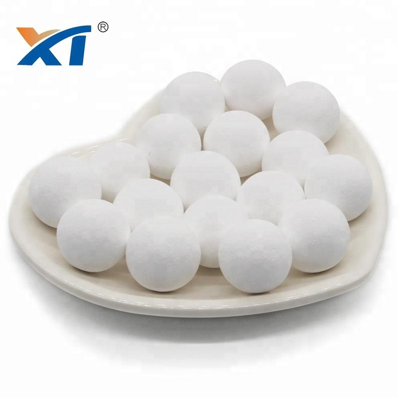 Alkaline 99%High Alumina Ball Ethylene Dryers Support