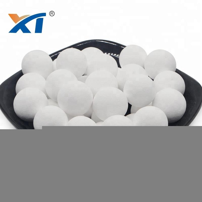 Support of Catalyst High Alumina Beads Alkaline Ceramic Balls