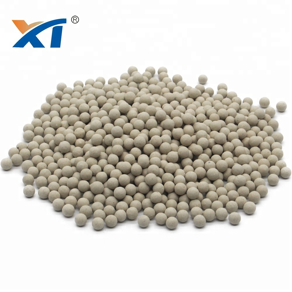 25mm inert ceramic ball support media for oil refinery catalyst