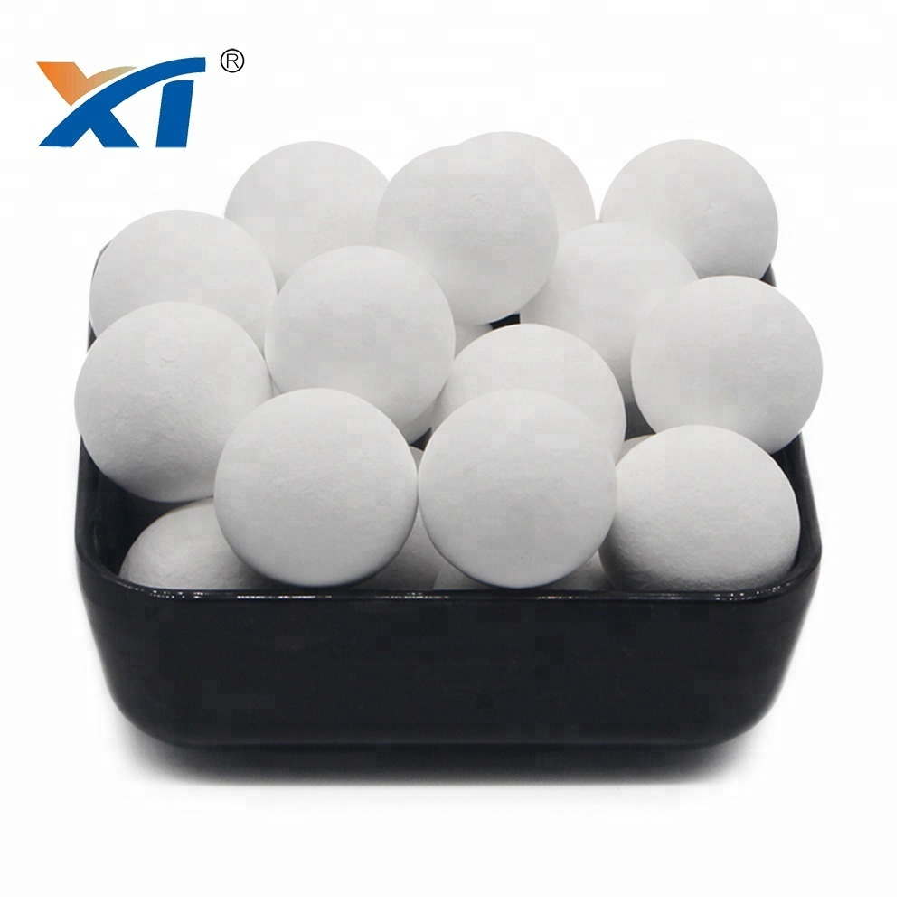 High density ceramic alumina ball petrochemical