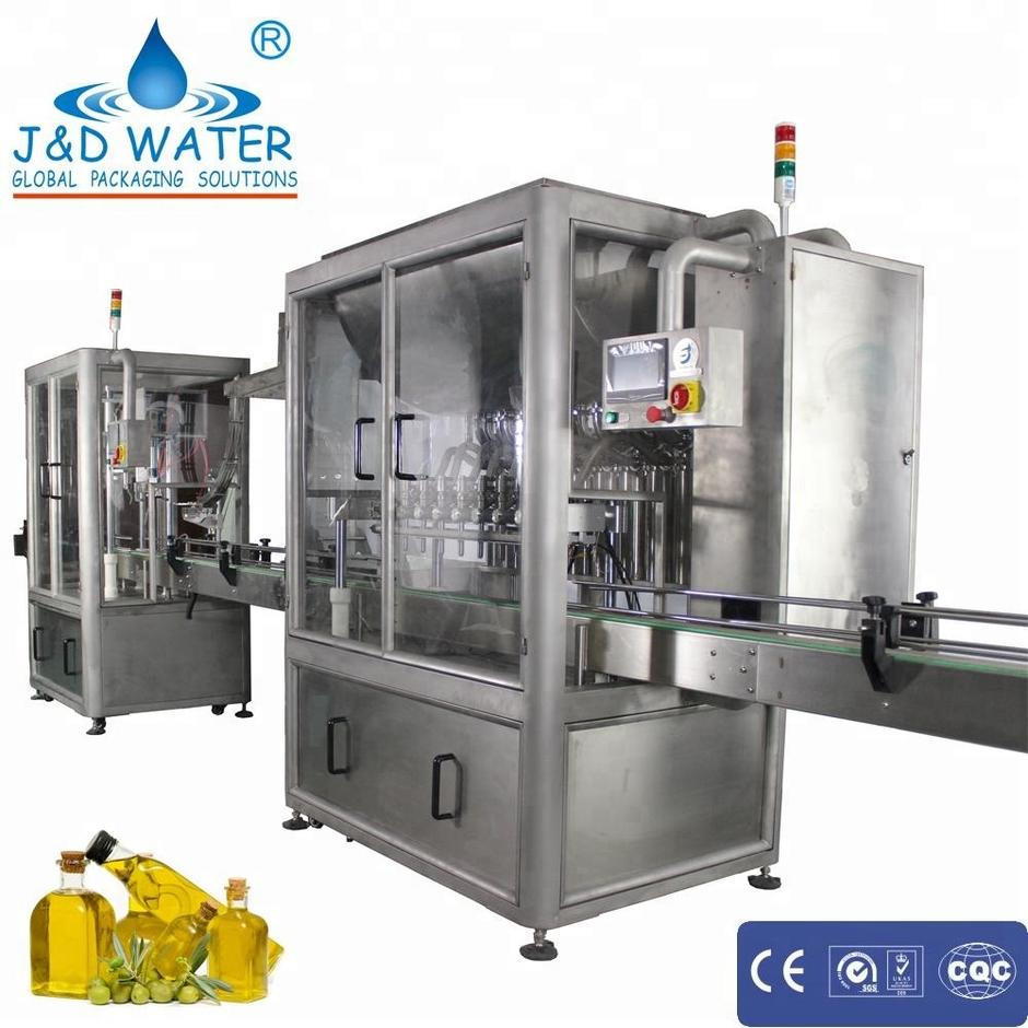 Automatic Olive Oil Filling Sealing Machine