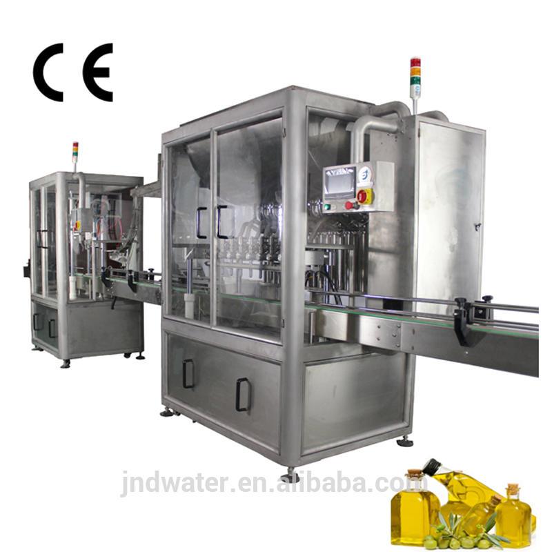 Automatic CE Standard Oil Filling Machine