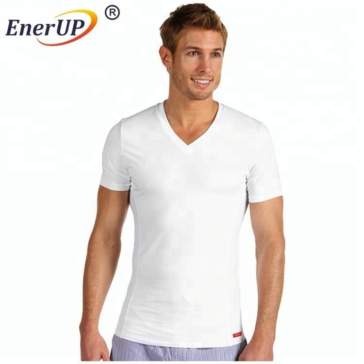 Mens 100% moisture wicking PE sweat proof undershirts t-shirt