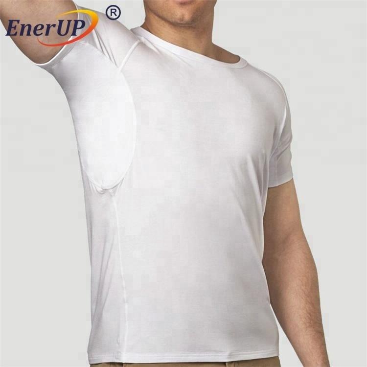 Mens sports hydro-shield sweat proof padding undershirts