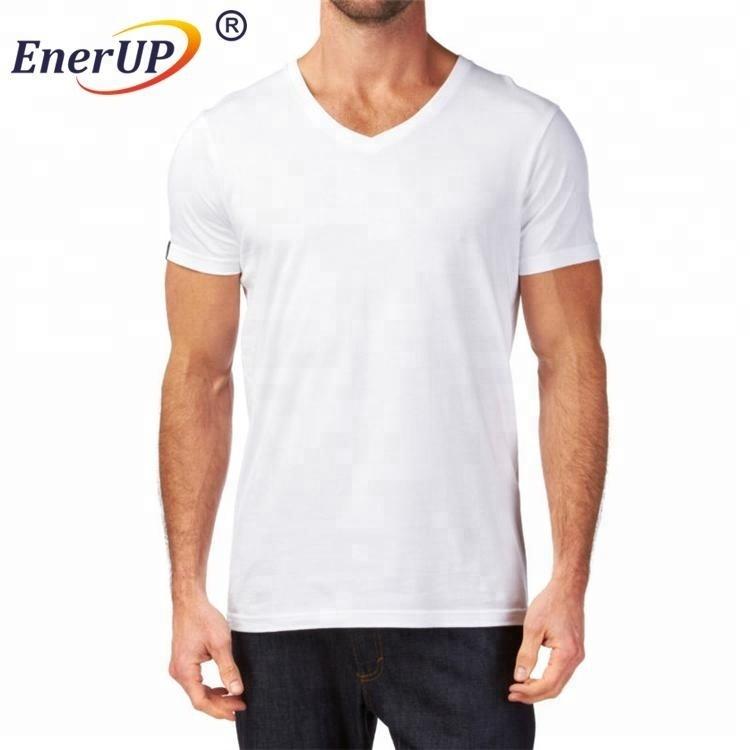 men's sweatproof modal t shirts crewneck