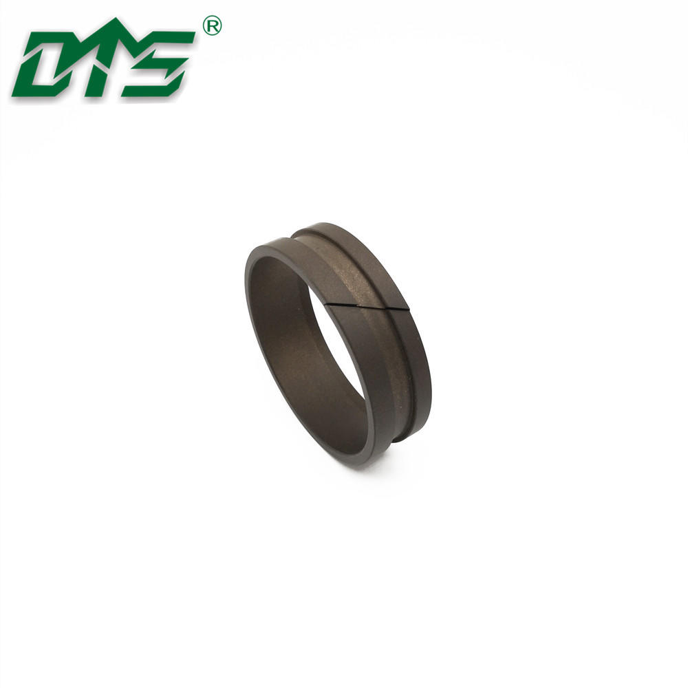 Guide sleeve with scraping lip for shaft DFAI PTFE/POM/PA