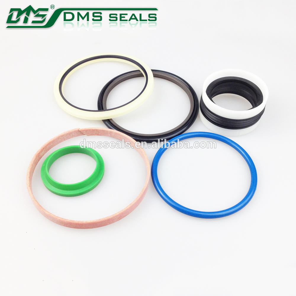 bronze PTFE rod seal for hydraulic cylinder sealing RDI