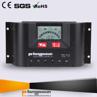 10A 15A 20A 30A Hybrid PWM Solar Panel Charger Controller LCD 12V/24V