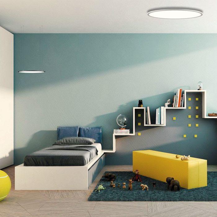 New design LED panel light big round dai1200mm 130w LED ceiling panel light