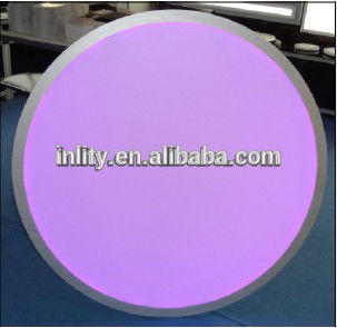 RGB Round LED Panel Lighting with size 800MM Dimmable