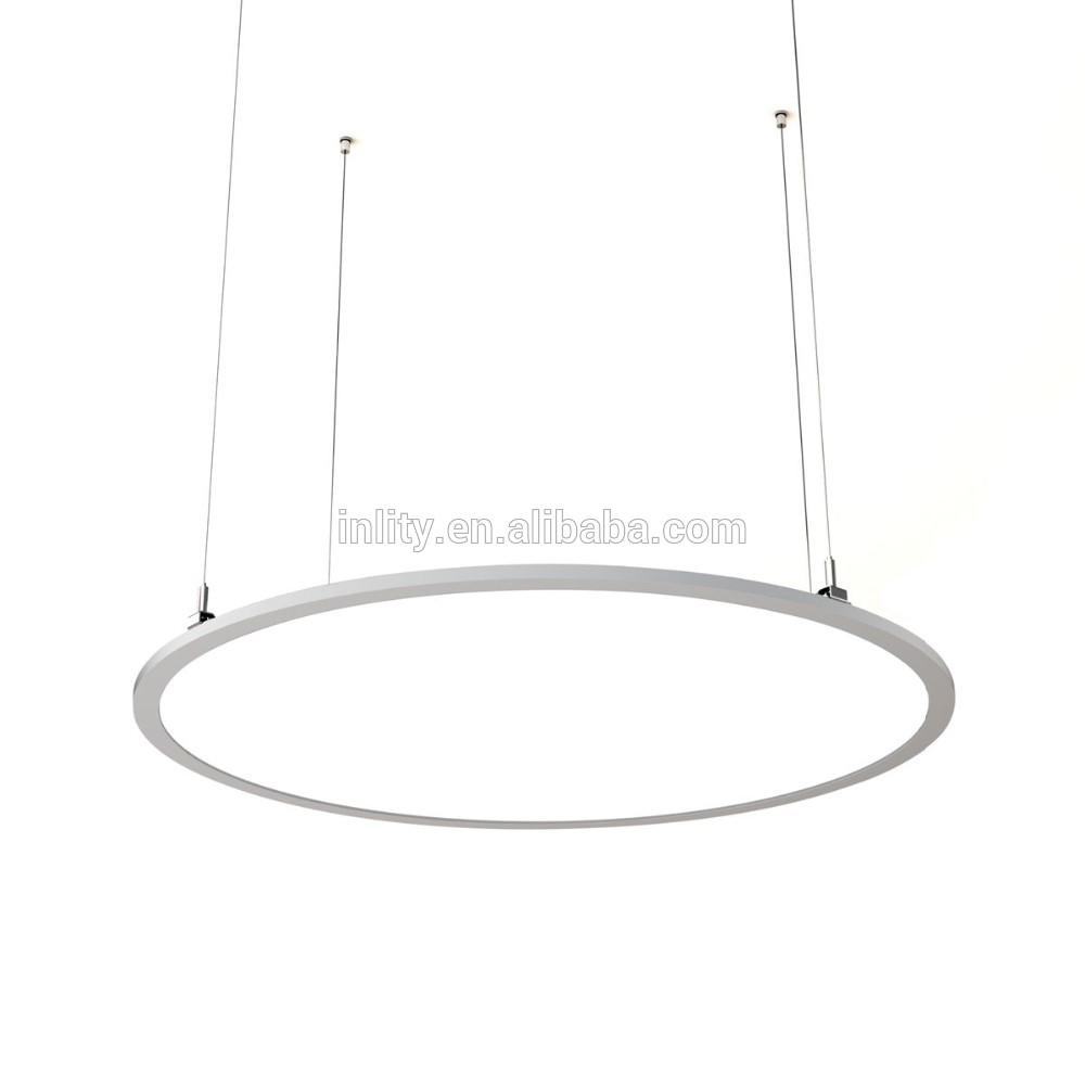 Office lighting Big Round Panel 1000mm 110W LED Panel Light CCT adjustable and dimming