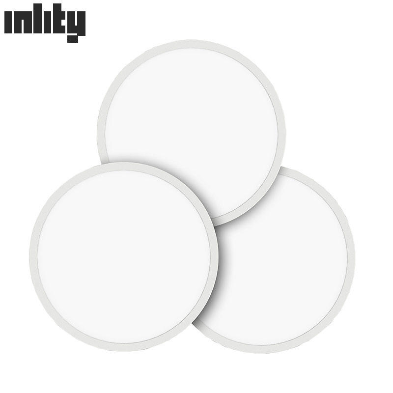 INLITY Diameter 600mm 48W Round Flat Ceiling LED Panel Light