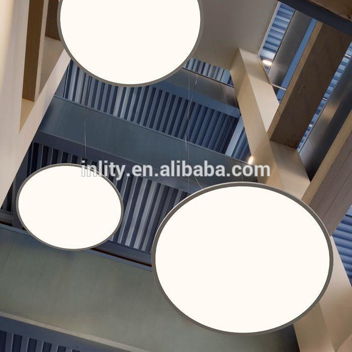 110W Round LED Panel Light 1200mm Mitsubishi LGP 6mm thickness 5 years warranty
