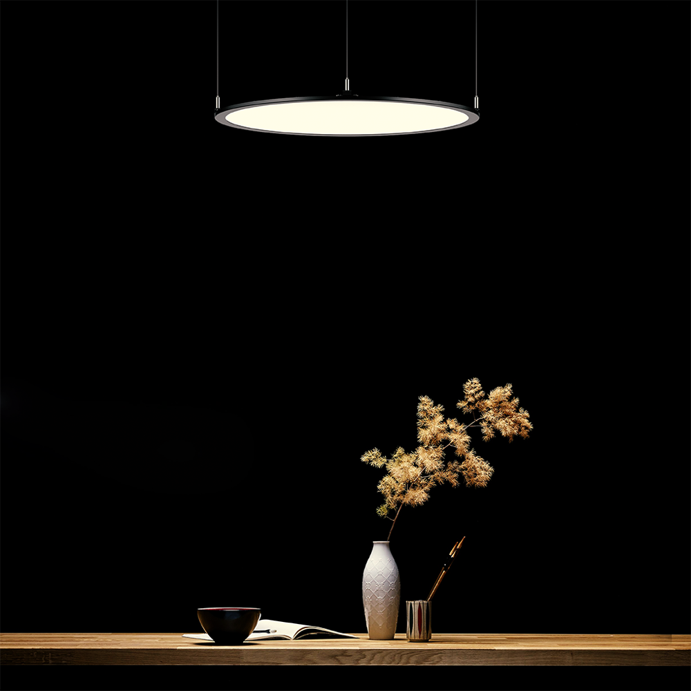 office lighting 300mm 400mm 500mm 600mm 800mm 1000mm 1200mmround led panel pendant downlight