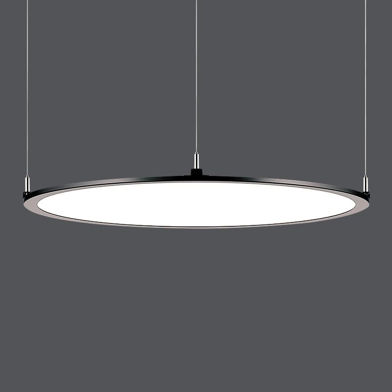 2020 Diameter 600mm AC110V-240V Ra80support Bespoke Suspend FlatLED Panel Light