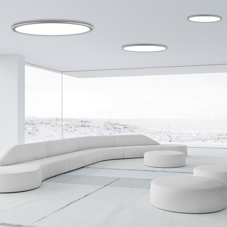 China manufacturer offer office pendant round panel LED light