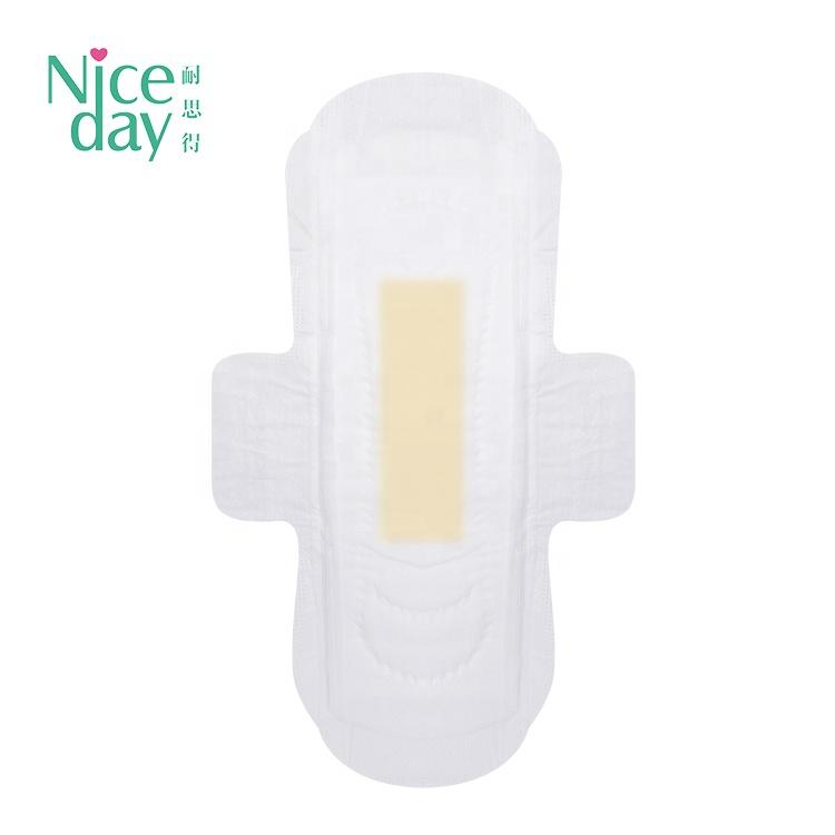 Colorful Anion Sanitary Napkins Excellent Absorbent Period Pads Safety Menstrual Pads Cloth Disposable Day Breathable Regular