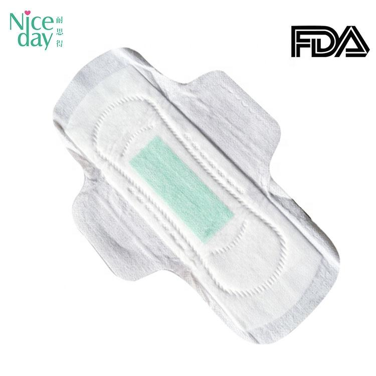 Ultra Thin Menstrual Pads Disposable Cotton Sanitary Women Pad/Active Oxygen And Negative Ion Sanitary Napkin