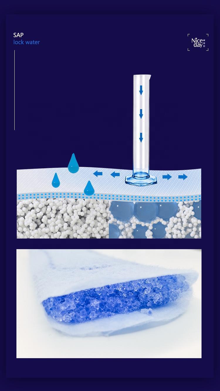 High quality machine grade disposable oem printed sanitary napkins