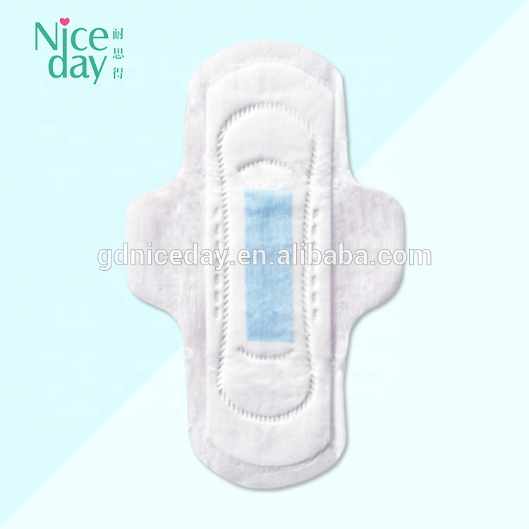Nice Day Active Winged Breathable female Sanitary Napkin cheap pice sanitary napkins private label