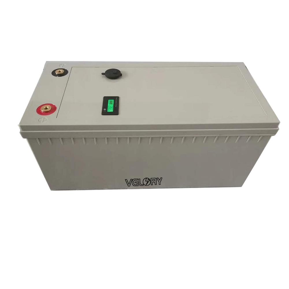 Charger 12.8v 120ah Rechargeable Storage Solar 80ah Lifepo4 Pack Li-ion Battery 12v 50ah 100ah 150ah