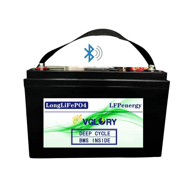MitSolar Batterie 12 V Oem Odm Li Ion Lithium Deep Cycle Lifepo4 Battery 12v 100ah Bms