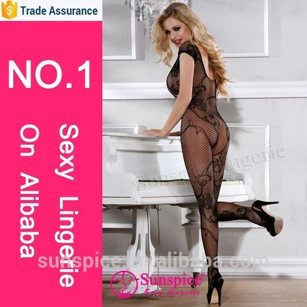 Bodystocking manufacturer quality guarantee image copyright nylon open crotch bodystocking