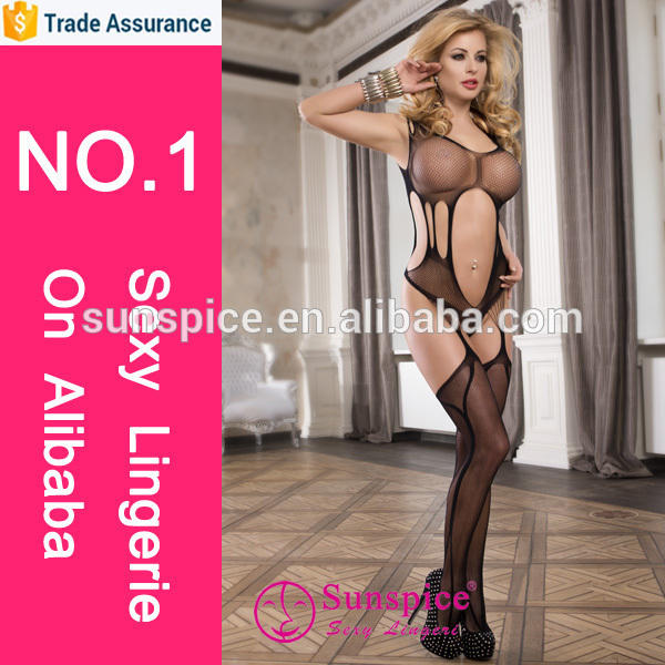 Hot style lingerie open girl Provocative Passion sexy girl bodystocking