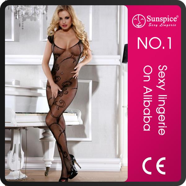 Seductive Hot manufacturer quality guarantee design sexy bodystocking sexy nurse dress Women sexy full body stocking