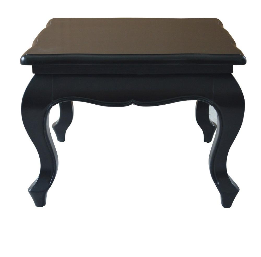 Antique Black Wooden Side Table HL310-60