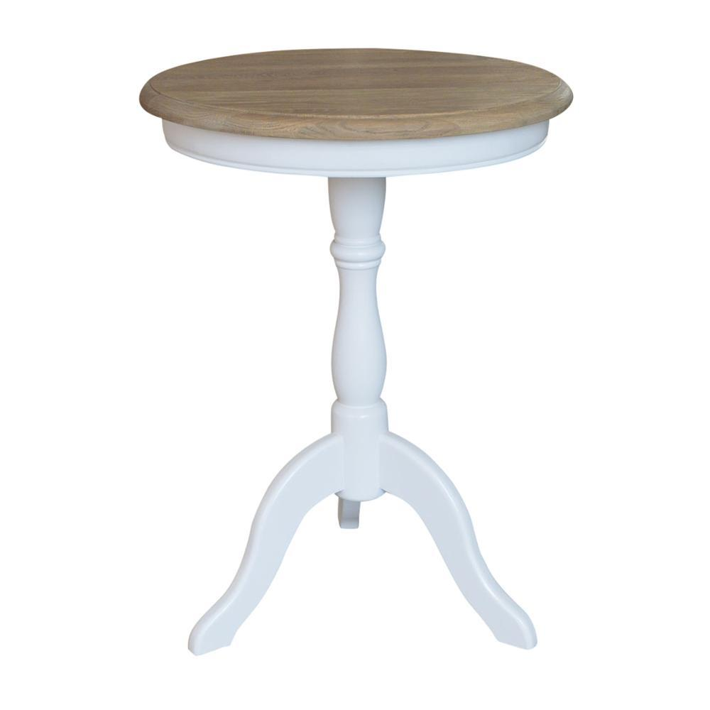 Beach House French Classical Furniture Solid Wood Side Table Console HL338