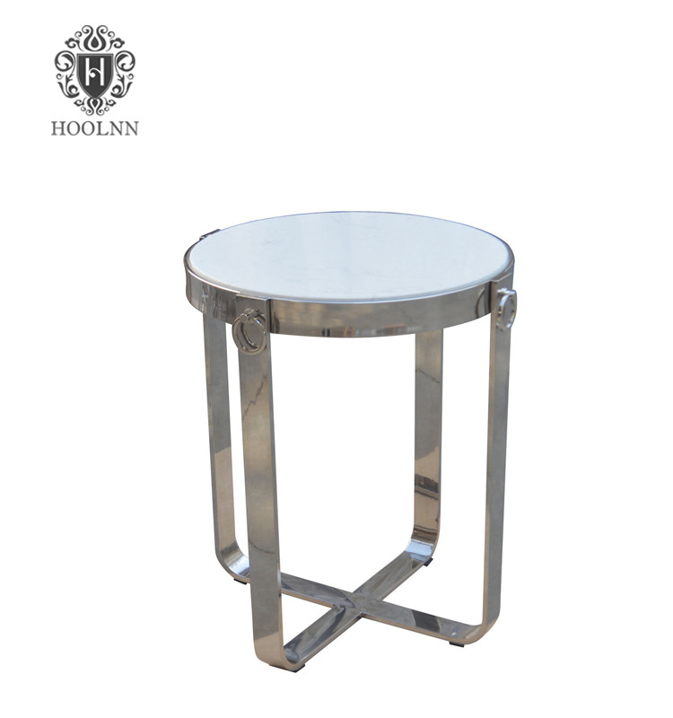 Mid-centry Modern Reclaimed Wood Top Side Table HL167