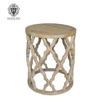 Sirah French Vintage Furniture Hand Crafted Reclaimed Wood Side table HL231