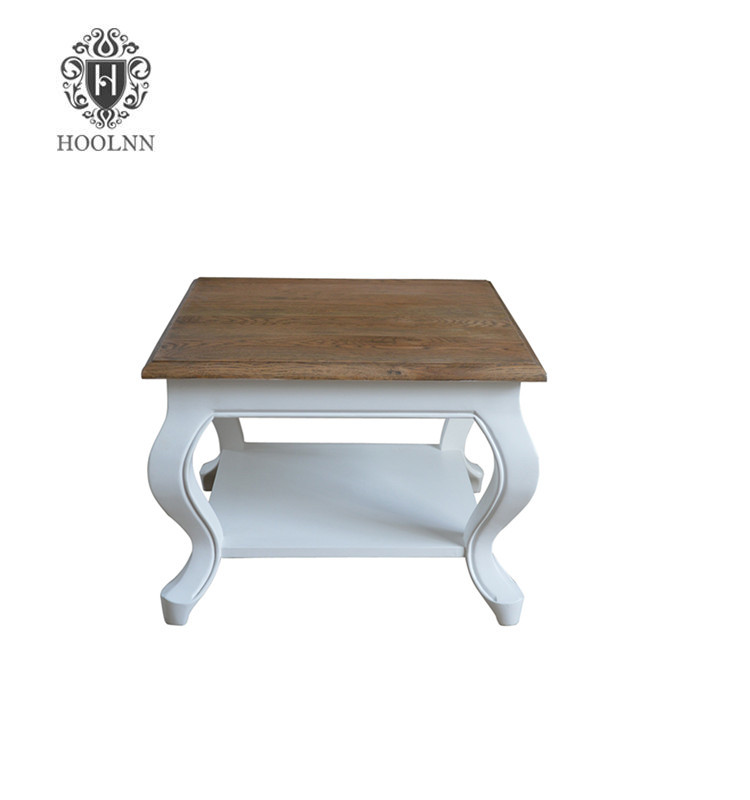 French Costal Wooden Side Table HL377-60